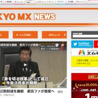 東京MXニュースのスクリーンショット